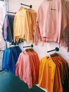 927372c8e6b If this was a closet full of Champion sweatshirts. Not going against it ✋😚  Pastel yellow fav