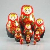 Traditional Nesting Dolls | Matryoshkas from Russia | Classic Russian Dolls