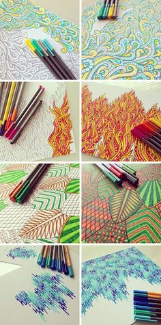 Zentangle Sneakers | zentangle # zentangle art #...