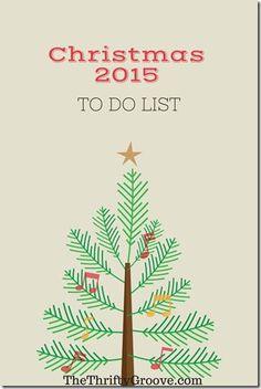 Make a Checklist for Christmas Now! #getheadontheholidays #christmasiscoming