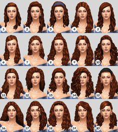 NBHT – the trash files - Modern Sims 4 Curly Hair, Sims Hair, Curly Hair Styles, Natural Hair Styles, Sims 4 Cc Packs, Sims 4 Mm Cc, My Sims, Los Sims 4 Mods, Sims 4 Game Mods