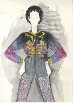 FTY 2015 Jasmin Rigert Feelings, Knitting, Illustration, Outfits, Fashion, Textile Design, Moda, Suits, Tricot