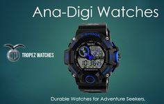 Sports Watches - For the serious athlete or casual observer