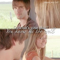 Ty always knows when Amy has plan best teem ever love them ❤️ Watch Heartland, Amy And Ty Heartland, Heartland Quotes, Heartland Tv Show, Heartland Seasons, Heartland Ranch, Ty Et Amy, Amber Marshall, Country Quotes