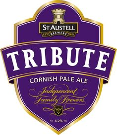 This is a Cornish beer and one he would drink in Cornwall