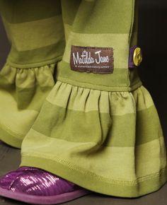 Tween Greenery Big Ruffles Matilda Jane Girls Clothing