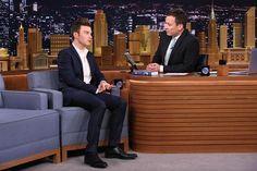 Chris visits Tonight Show Starring Jimmy Fallon (June 25, 2015)