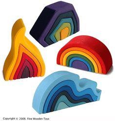 4 Elements Set, Large — Grimm's Spiel & Holz Design