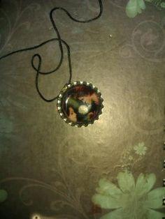Twilight Bella and Edward necklace