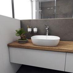 Umyvadlo na desku Olea Rectangular | 490 x 400 x 145 #bathroom #bathroomdesign #interiordesign #bathroomdecor #washbasin #umyvadlo #koupelna #ceramic #white #bonsai #bathroomideas #perfecto #perfectodesign @cz_perfecto