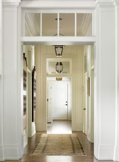 Transoms to get more light into your house/hallway (over bathroom door?)