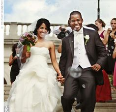 another Blindian couple from Cincinnati OH...check out the link for more wedding picz!!
