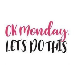 Happy Monday! Good Morning! What an amazing weekend! Now, unfortunately, it is time to get back to work. Ugh! First off coffee to wake the hell up! Have a great day! #newweek #newplans #GoodMorning #coffeetime #MondayMorning