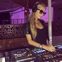"Paris Hilton on Instagram: ""At @ViaNotte for soundcheck for my show tonight. Love this venue! See you all soon #Corsica! """