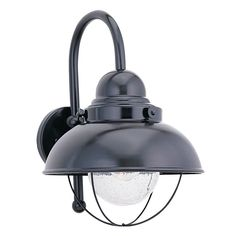 Sea Gull Lighting Sea Gull Lighting Sebring Black LED Outdoor Wall Light 887091S-12