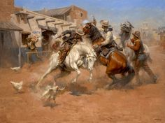 Leaving Old Mexico - General Items - Western Reproductions - AndyThomas.com