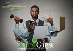 Create your own profile for FREE and showcase what you can do at XtraGigs.com. Be a GIg'r! #GreaterTorontoArea