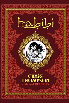 Habibi by Craig Thompson — Wantolia (fictional) | 14 Novels About Muslim Life That Shouldn't Be Missed