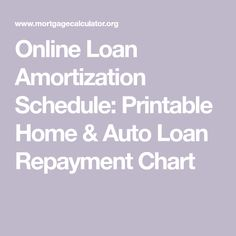Amortization Schedule Calculator  BankrateCom  Budgeting Ideas