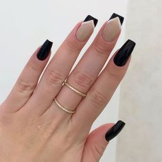 Simple nails design can be beautiful and fashionable. In the pictures below, we collected simple manicure designs. Gel Uv Nails, Manicure And Pedicure, Nail Nail, Love Nails, Pretty Nails, Fun Nails, Color Nails, Cute Acrylic Nails, Simple Nail Designs
