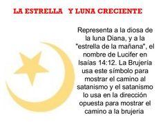 """Representa a la diosa de la luna Diana, y a la """"estrella de la mañana"""", el nombre de Lucifer en Isaías 14:12. La Brujería ..."""
