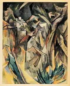 The City on the Hill, Oil On Canvas by Georges Braque France) Pablo Picasso, Picasso And Braque, Georges Braque Cubism, Matisse, Francis Picabia, A Level Art, French Artists, Art Pictures, Painting & Drawing