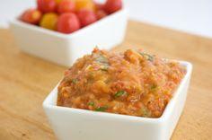 Naturally Ella | Roasted Tomato Pizza Sauce