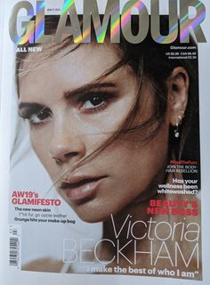 Glamour Magazine Uk, New Uses, Makeup Yourself, Victoria Beckham, Stylists, Make Up, Hair Beauty, Clothes, Reading