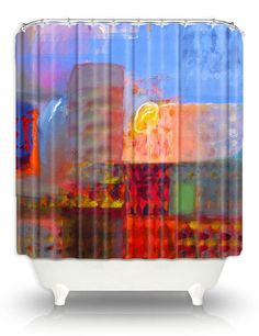 Artistic Shower Curtains by DiaNoche by DianocheDesignsDecor, $89.00.  @OpenSky, #dianochedesigns, #homedecor, #art, #showercurtain, @Rachael Rodriguez Designs, #stylish, #bath, #modernhome, #bathroom, #opensky, @Rachael Rodriguez Designs, @Etsy, #etsy