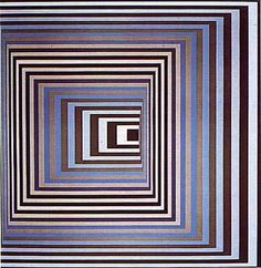 This would make an amazing quilt design - Artist Victor Vasarely
