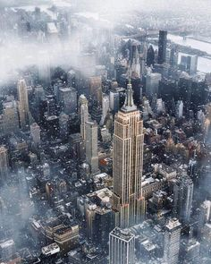cityscape - travel   new york city - nyc - landscape - city photography - us - usa - empire state building - trip - adventure - vacation - drone - arial photography - the big apple - idea - ideas - inspiration #dronephotographyideas