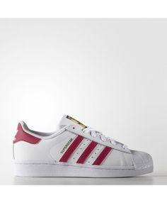 big sale 84479 f7d51 Adidas Superstar Footwear White Bold Pink Traniers Pink And White Adidas,  Pink Adidas, Adidas