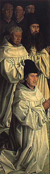 Painel dos frades, oficina de Nuno Gonçalves. Portugal, 15th Century, Renaissance, Mona Lisa, Artwork, Painting, Set Design, Portrait, Dashboards