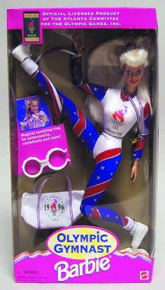 ,the little white thing helped you make her flip and spin. I loved this Barbie!!