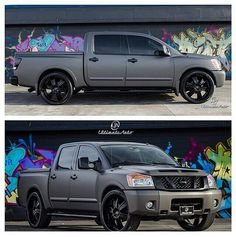 Nissan Titan...matted and blacked