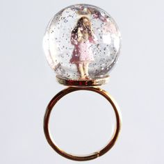 Snow globe ring!