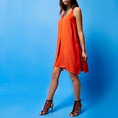 RI Studio red silk slip dress £75.00