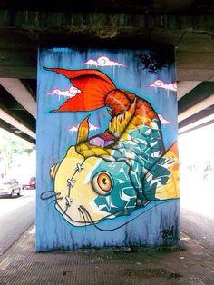 Binho Ribeiro. Street Art. Art. Graffiti.