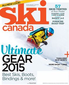 Buyer's Guide 2015 issue on newsstands now. http://skicanadamag.com/issues/buyers-guide-2015