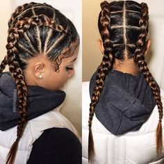 Two Braids Hairstyles | African American Hairstyling