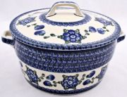 Polish Pottery-covered casserole