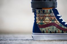 "LIBERTY OF LONDON x VANS – ""Holiday"" 2013 Collection 