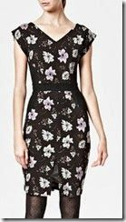 French Connection Floral Jersey Dress
