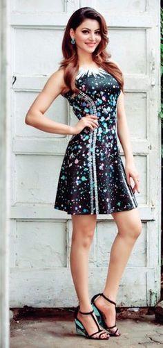 Urvashi Rautela. Indian Celebrities, Beautiful Celebrities, Beautiful Actresses, Bollywood Actress Hot, Bollywood Fashion, Sexy Dresses, Short Dresses, Fashion Model Poses, India Beauty