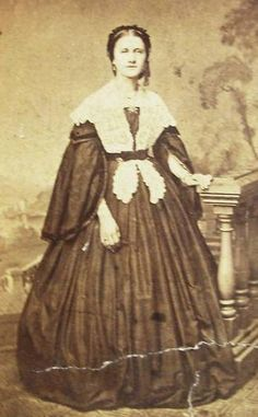 The Barrington House Educational Center, L.L.C. Nice fichu or shawl. Looks like she is not wearing undersleeves