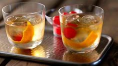 BBC – Food – Whisky cocktail recipes old fashioned alcoholic drink. | Ready to Drink Cocktails #howmendress #menswear #mensfashion
