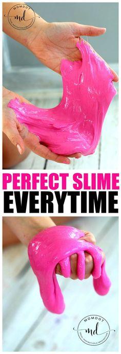 Slime Recipe: Easy No Borax Slime Recipe
