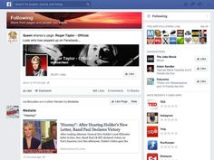 Hands on with the new Facebook feed