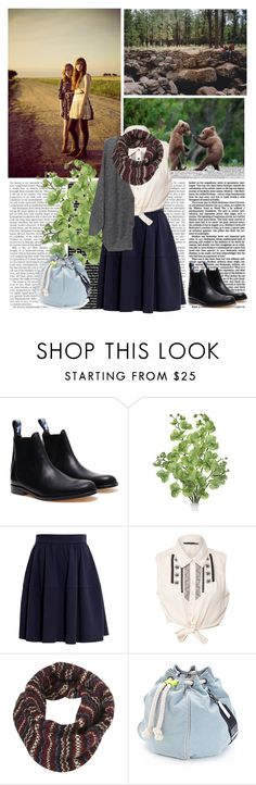 """Take me back to the start"" by yagmur ❤ liked on Polyvore featuring INDIE HAIR, Julien David, Carven, Miso, Topshop and Meredith Wendell"