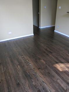 Transitioning Wood Flooring Between Rooms Hardwood Floor Stain Colors, Grey Hardwood Floors, Hickory Flooring, Refinishing Hardwood Floors, Engineered Wood Floors, Floor Colors, Wood Flooring, Flooring Types, Flooring Ideas